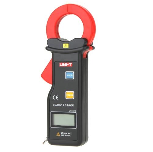UNI-T UT251B High Sensitivity 300A Leakage Current Clamp Meter w/ Auto Range Data Hold