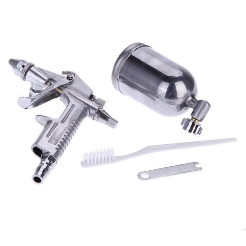 Комплект спрей пистолет распылитель тяжести воздуха кисти набор алюминиевых сплав живописи краска Аэрограф