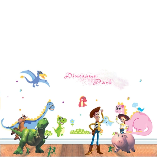 Stickers Muraux Stickers Mural Art Bricolage Wallpaper Dragon Paradize pour chambre Decal 60 * 90cm
