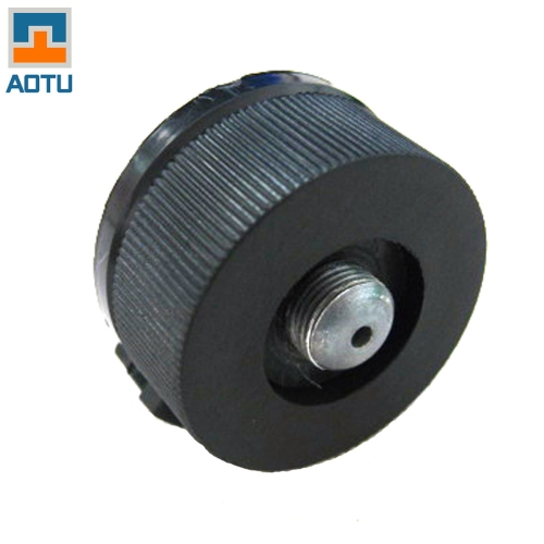 Outdoor Hiking Camping Stove/Burner Split Type Furnace Converter Connector Auto-off Gas Cartridge Tank Adapter