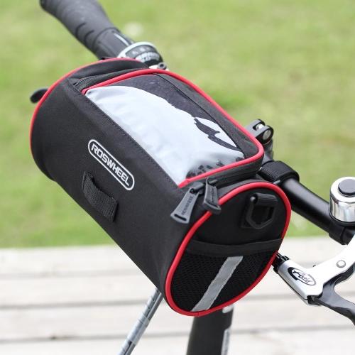 Fahrrad Vorne Lenker Tasche Korb Transparent PVC Beutel für anzeigen