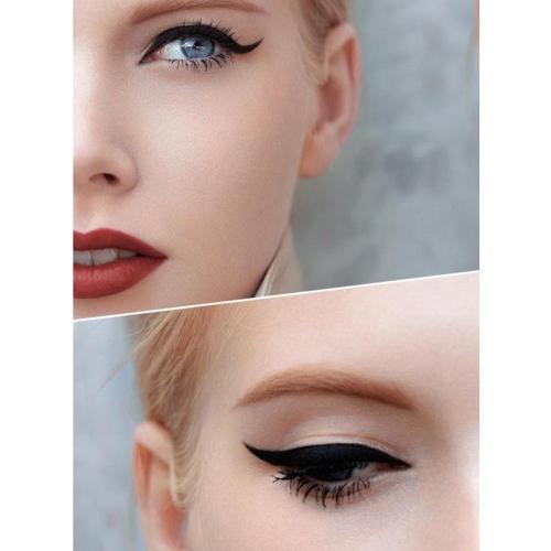 Topeka delineador líquido negro ojo Liner maquillaje impermeable cosméticos ojos herramienta pluma para maquillaje de ojos