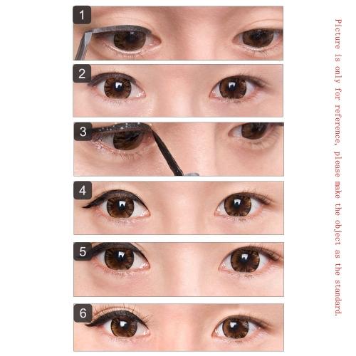 60 Pair Waterproof Shimmering Powder Double Eyelid Stickers 3D Beautiful Eyelid Tape Beauty Eyeliner Tape