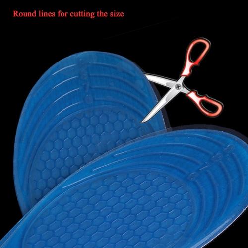 Силиконовый гель ортопедических арочной крепи массаж анти-скольжения спорта стелька вставить валик Pad