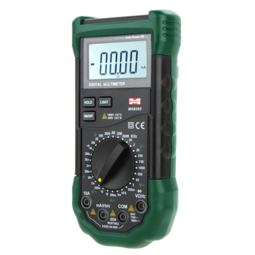 MASTECH MS8265 DMM Digital Multimeters 20000 Counts LCD Backlight w/Frequency & Capacitance Test