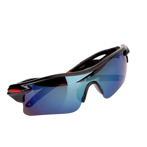 Uomini donne ciclismo occhiali UV400 Outdoor Sport antivento Eyewear per bici moto occhiali da sole