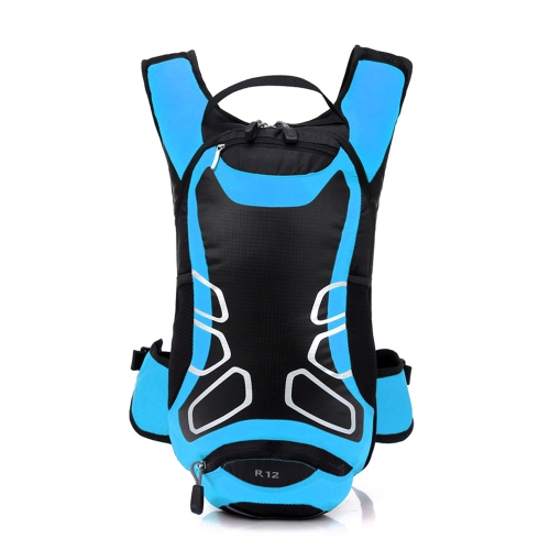 12L Waterproof Cycling Bicycle Bike Shoulder Backpack Ultralight Sport Outdoor Riding Travel Mountaineering Hydration Water Bag