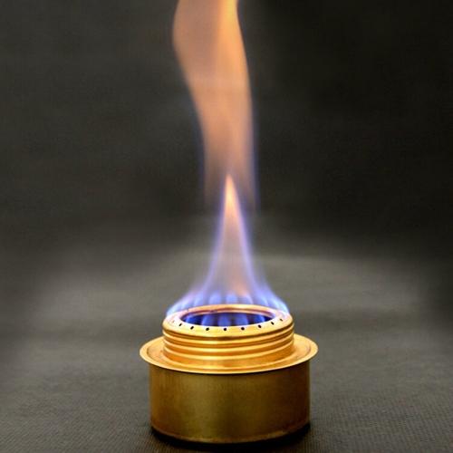 Медный сплав портативный мини ультра-легкие дух горелки алкоголя плита открытый кемпинг печи печи B-9