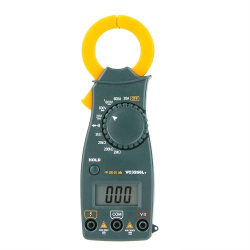 VC3266L+ Mini Digital Clamp Multimeter AC/DC Voltage AC Current Resistance Diode Tester