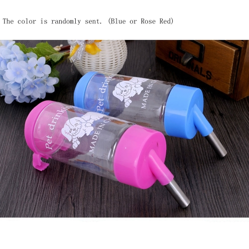 Water Drinker Dispenser Hanging Bottle Auto Feeder for Pets Dogs Rabbits Cats Birds