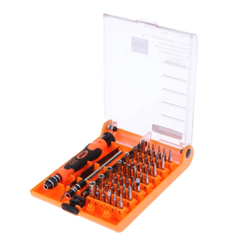 Jakemy JM-8128 Interchangeable Magnetic 45 In 1 Precision Screwdriver Set Repair Tools for iPhone iPad PC