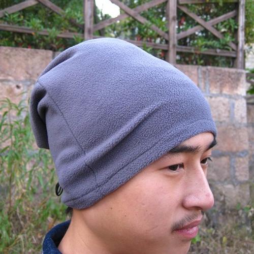 Panno morbido polare Outdoor multifunzione sciarpa termica viso marmitta collo ghetta scaldino testa avvolgere inverno cappello Unisex