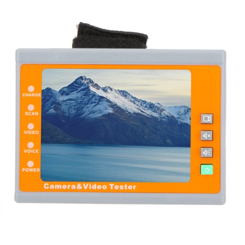 i-pook PK67A 3.5'' TFT LCD Wrist Strap Type Camera & Video Tester W/ 12V Emergency Power Output
