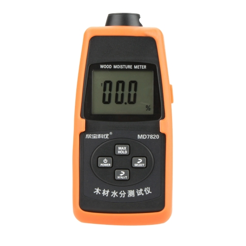 Sanpo MD7820 professionelle Mini Holz Holzfeuchte Meter Temperatur Meter