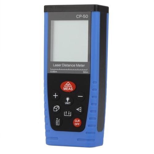 CP- 50 Handheld Professional Laser Entfernungsmesser Entfernungsmesser Mess 0,05 ~ 50m