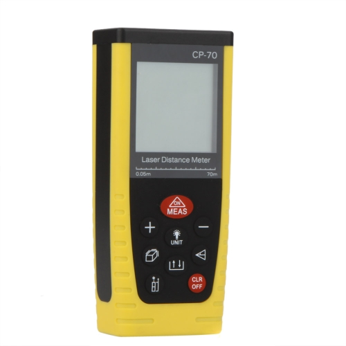CP-70 Portable Professional Laser Distance Meter Rangefinder Measuring 0.05~70m