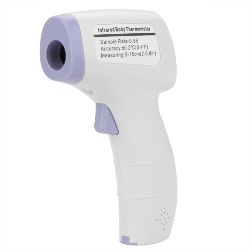 HTD8808 Non-contact Body Food Liquid Infrared Thermometer Temperature Meter w/Three Color Backlight