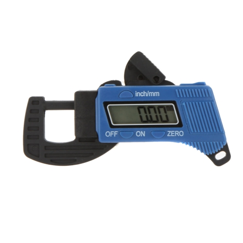 High Quality 12.7mm Carbon Fiber Composites Mini Digital Thickness Gauge Tester