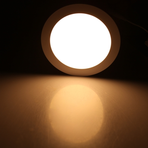 12W Round LED Recessed Ceiling Panel Light Down Lamp Ultra Thin Bright for Living Room Bathroom Bedroom Kitchen AC85-265V