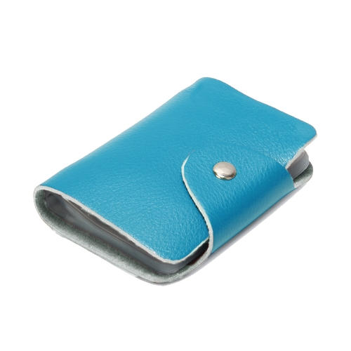Nova moda mulheres homens cartão titulares couro genuíno negócio ID cartão de crédito caso bolsa Unisex