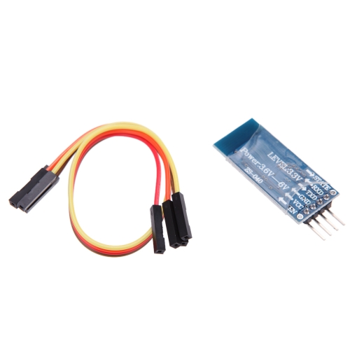 Wireless Serial 4 Pin Bluetooth RF Transceiver Module HC-06 TTL UART Slave + Cable for Arduino