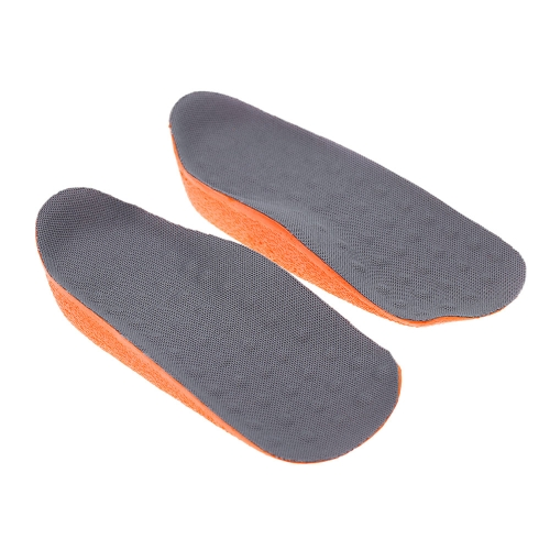 One Pair of Height Increase Shoes Inserts Insoles Pads Heel Lifts Taller Pad for Man and Woman