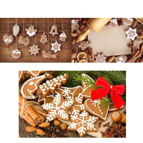 Schöne Polymer Clay Drop Anhänger Weihnachtsbaum Kugeln Dekoration hängen Ornament Schneeflocken Decor