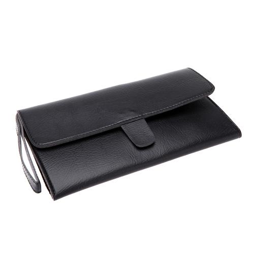 Pro couro cabelo tesoura saco tesoura cintura Pack cabeleireiro de estimação ferramenta malote titular caso