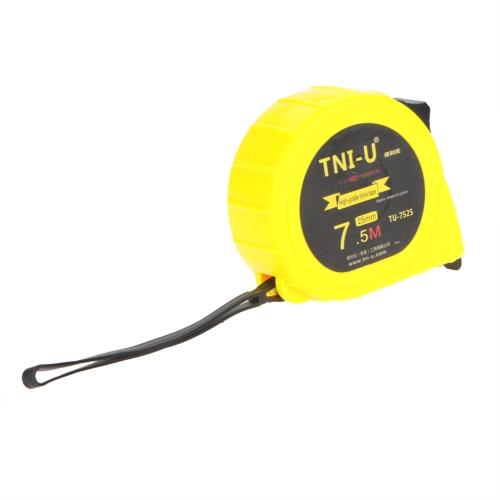 TU-7525 7.5M*25mm Metric Imperial  Tape Measure Retractable Flexible Ruler Tape Ruler