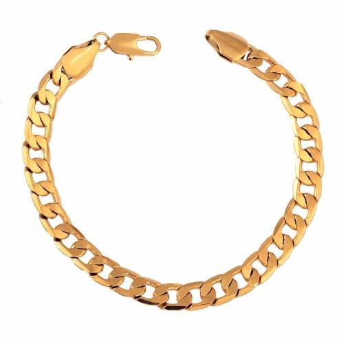 Klassischen Charme Kette 18K Gold Armband Luxus Schmuck Geschenk für Lady Mädchen junge Männer Unisex