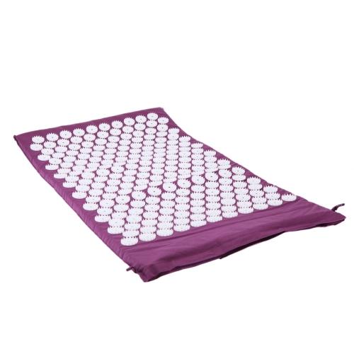 Masajeador almohadilla Yoga cama clavos estera de masaje de acupresión
