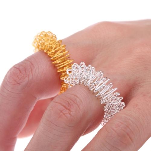 Dedo masaje anillo acupuntura anillo Massager