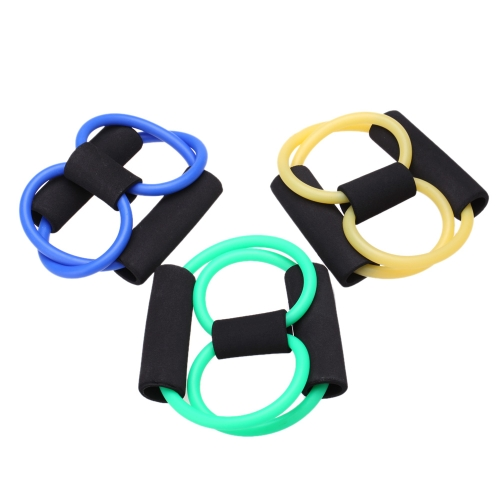Yoga Strap Belt 8 Characters Pull Rope Pilates Chest Expander Yoga Supplies
