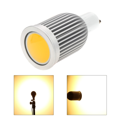 GU10 7W COB LED Spotlight Bulb Lamp Energy Saving High Brightness Warm White 85-265V