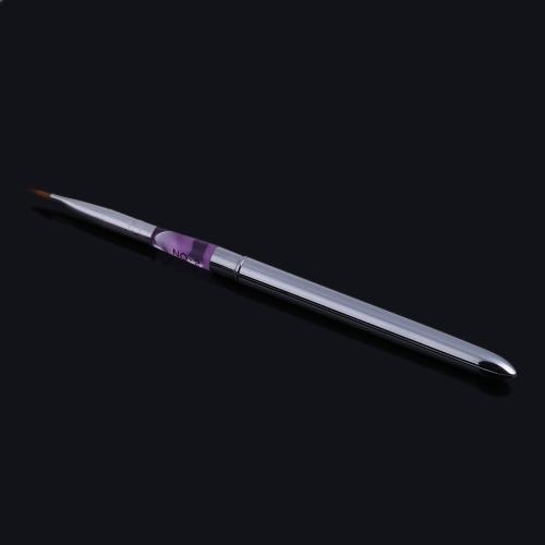 Crystal Carve Pattern Nail Art Pen Portable Foldable Painting Brush