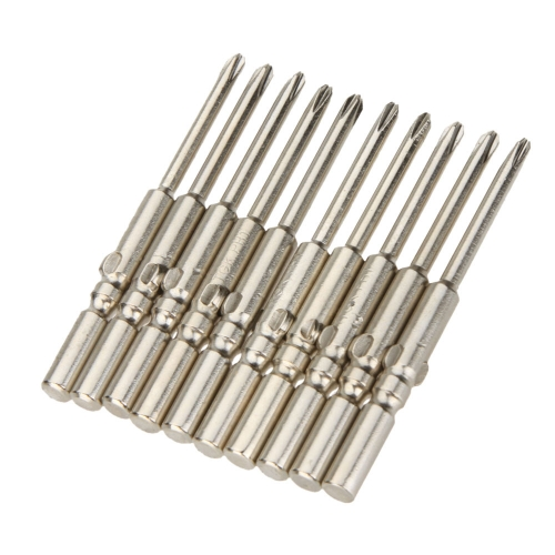 TGK φ5X60X3.0X1# 10PCS Screwdriver Bits Set for Electric  Screwdriver Phillips Screwdriver Bits Repair Hand Tool