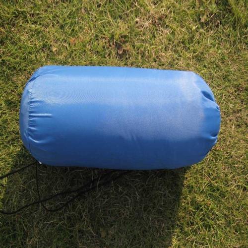 Взрослый спальный мешок весна лето осень конверт с капюшоном открытый туристический поход 1 кг
