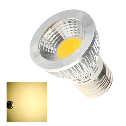 E27 5W COB светодиодные света лампы лампы высокой мощности энергосберегающих 85-265В