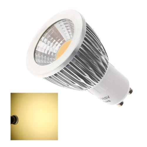 Lixada GU10 7W COB светодиодные света лампы лампы высокой мощности энергосберегающих 85-265В