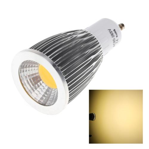 GU10 9W COB светодиодные света лампы лампы высокой мощности энергосберегающих 85-265В