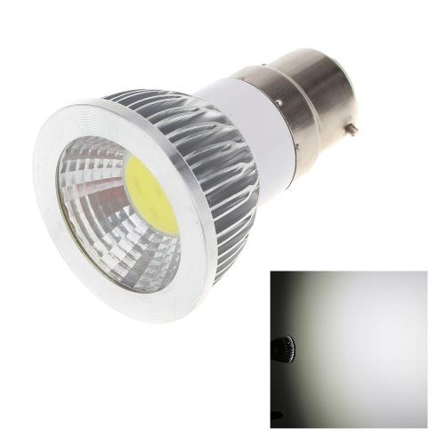 B22 5W COB светодиодные света лампы лампы высокой мощности энергосберегающих 85-265В
