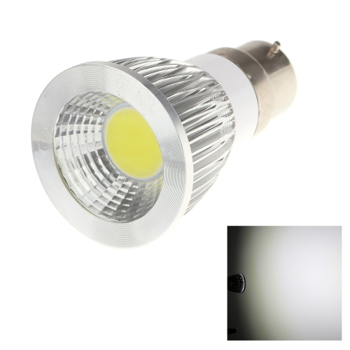 B22 7W COB LED Spot Light Lamp Bulb High Power Energy Saving 85-265V