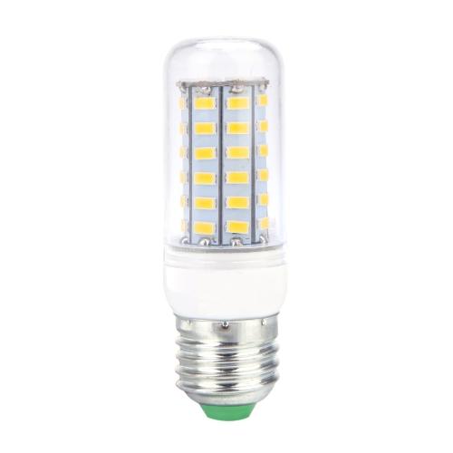 E27 12W 5730 SMD 56 светодиоды кукурузы света лампы лампы энергосберегающие 360 градусов 110V
