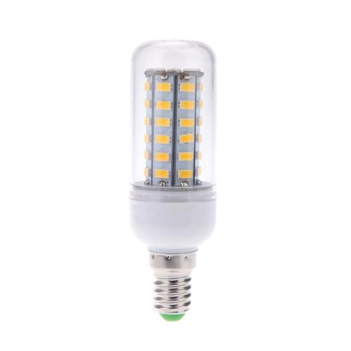 E14 10W 5730 SMD 48 LED Mais Licht Lampe Energieeinsparung 360 Grad 110V