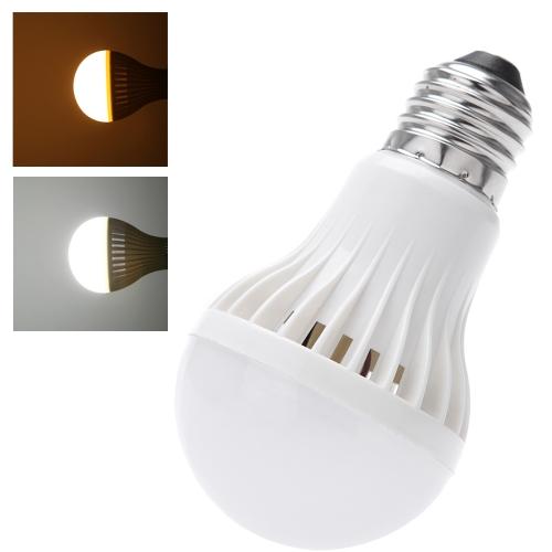 E27 5W Sound & Light Sensor Auto Detection LED Light Lamp Bulb AC85-265V