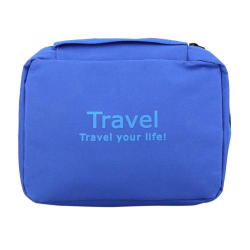 Múltiples funciones al aire libre viajes Camping lavado bolsa gran capacidad tocador transpirable resistente al agua cosmética almacenamiento