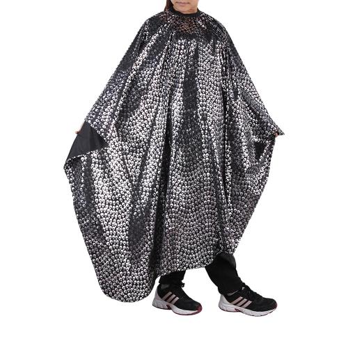 Corte de cabelo avental cabeleireiro pano impermeável Styling salão Cape vestido pano