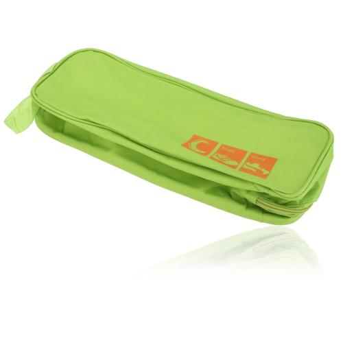 通気性 ビジュアル シューズボックス バッグ  換気ストレージ 防水 ポータブル バッグ旅行 【並行輸入品】