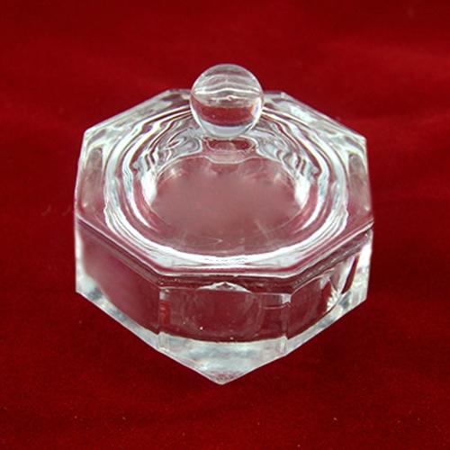 Ногтей искусство инструмент хрустального стекла Dappen блюдо Кубок Гвоздь Арт Акрил жидкий порошок