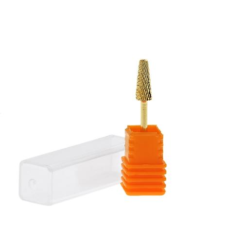 Forma eficiente durable de la seta Lima poco taladro eléctrico para uña arte DIY manicura oro